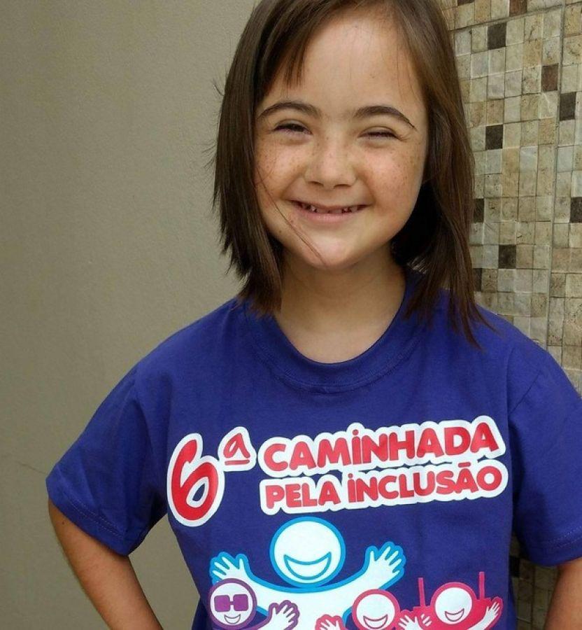 A sorridente Gabriela (Foto: Arquivo pessoal)